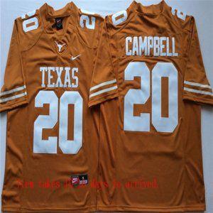 Texas Longhorns #20 Earl Campbell Jersey